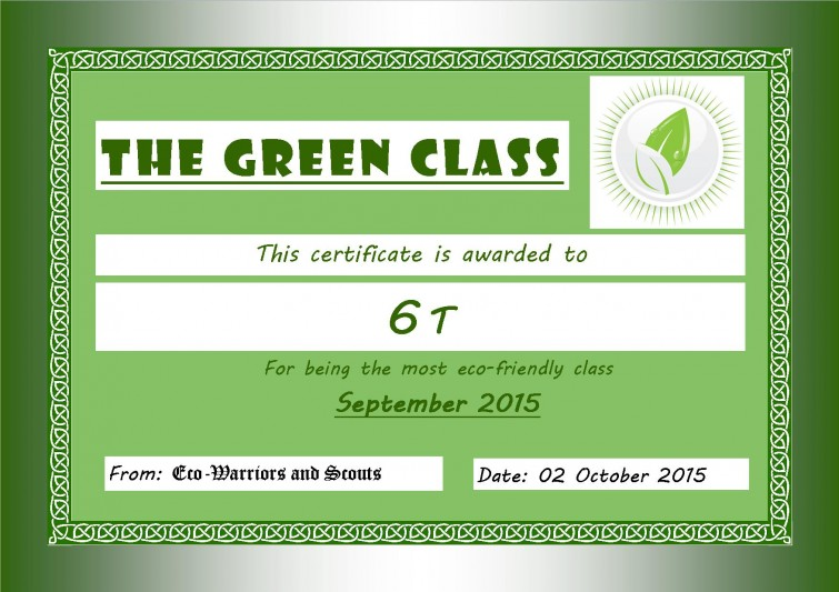 Green Certificate_September 2015_6T