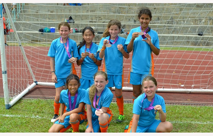 U11 Girls Football Finals 2017