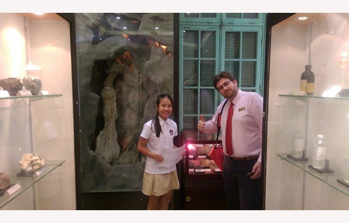 British International School Hanoi Year 8 trip Geology Museum