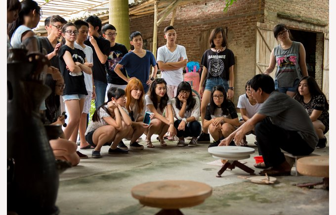British International School Hanoi trip