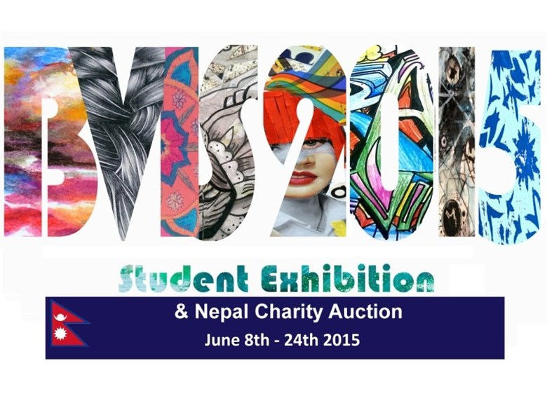 BVIS Student Exhibition and Nepal Charity Audition