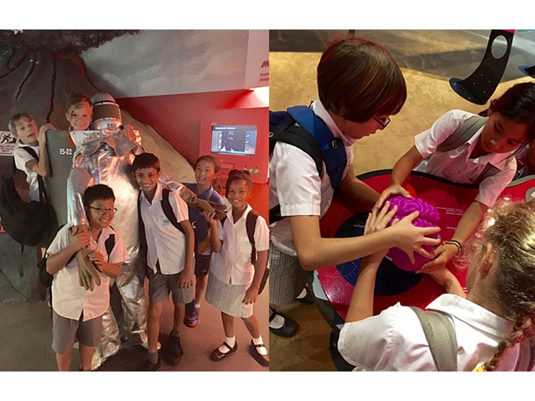 Year 5 Visits Omni-Theatre Singapore Science Centre