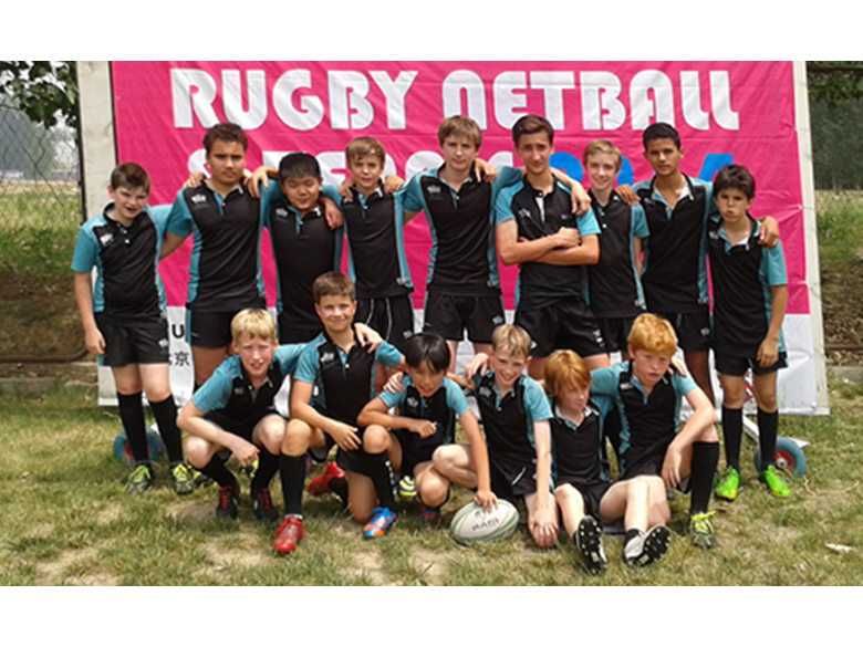 BISS Puxi Under 13 Rugby team