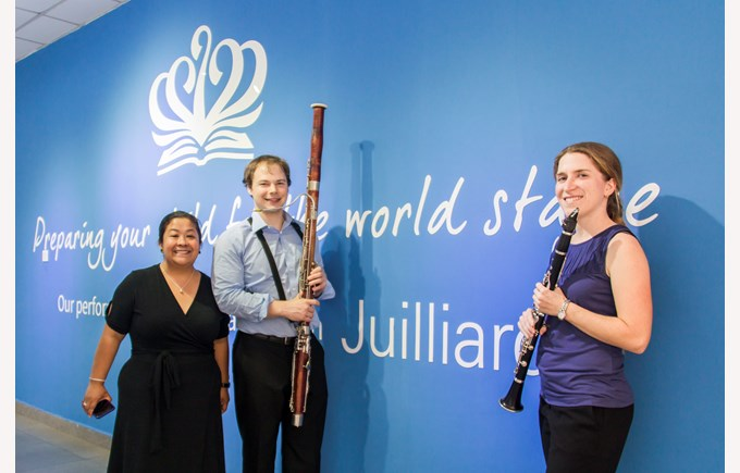 Juilliard Artists Visit 201801