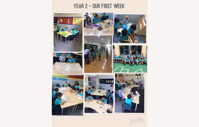 Our first week in Year 2