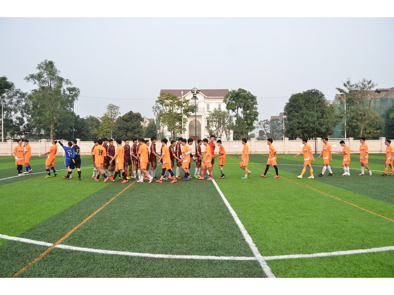 British International School Hanoi Football