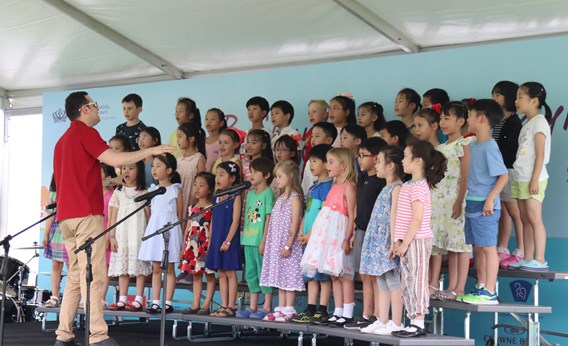 2018 Summer Fayre 01 - Y1&2 Choir
