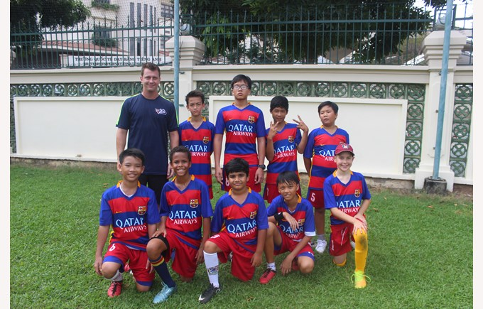 Community Football Tournament BISHCMC Barcelona