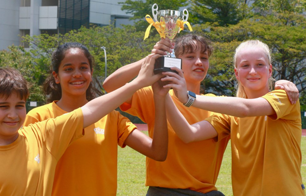 Secondary Sports Day Newton Winners