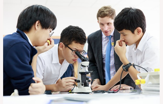 British International School Hanoi Science
