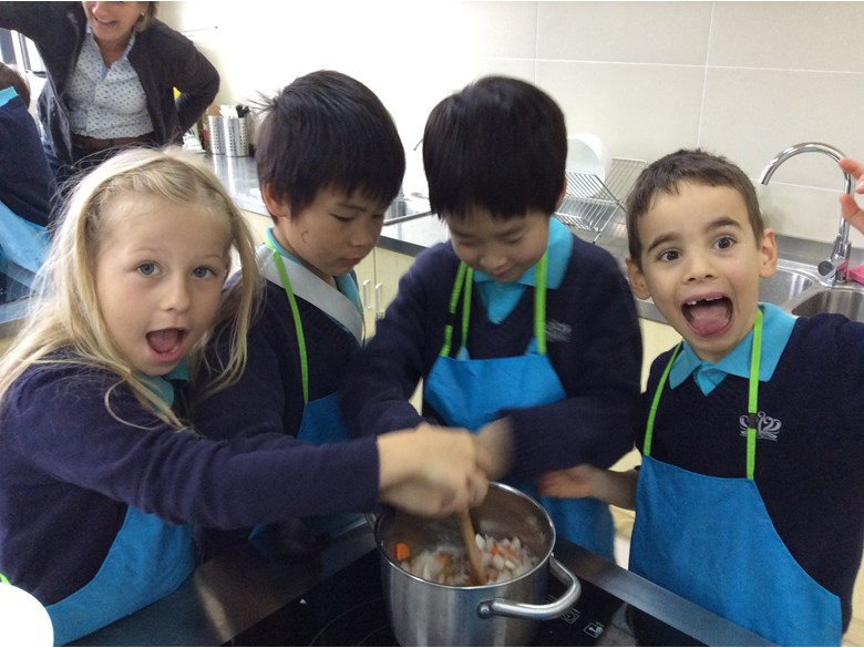 Year 2 Cooking