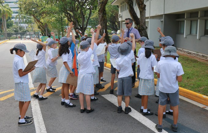 STEAM Upper Primary Street Smarts Challenge