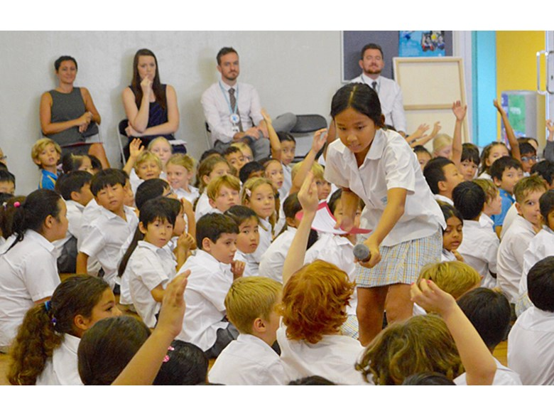 Eight Personal Goals at Upper Primary Assembly