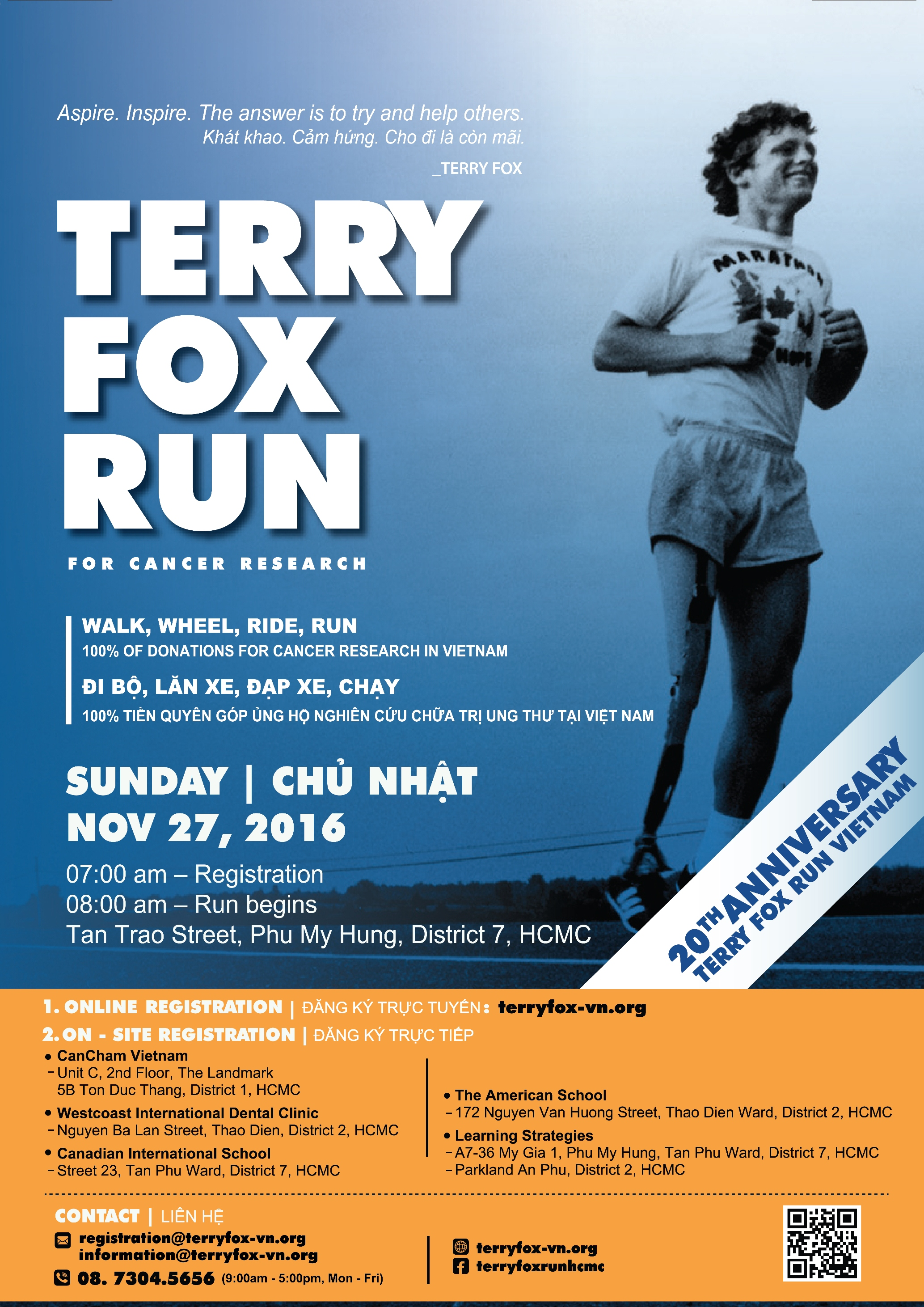 Terry Fox BIS HCMC
