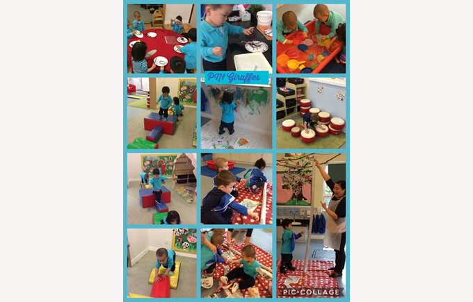 A fun week in Pre-Nursery Giraffes