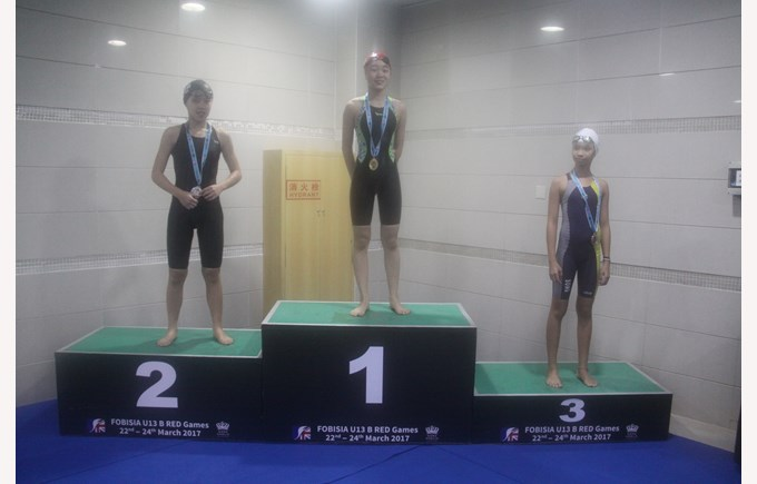 U13 FOBISIA Swimming