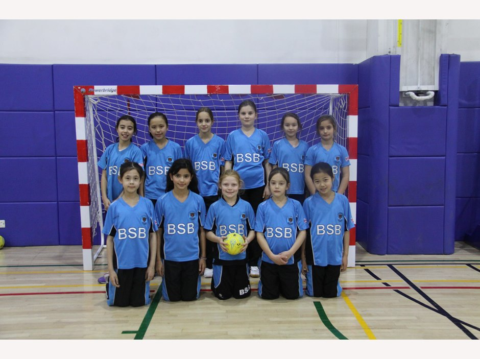 U10 Girls Handball