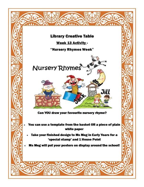 nursery rhyme week