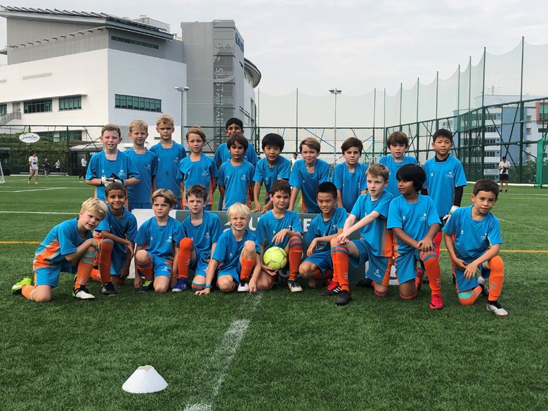 Dover Court International School Singapore Under 9 Boys ACSIS Football Finals