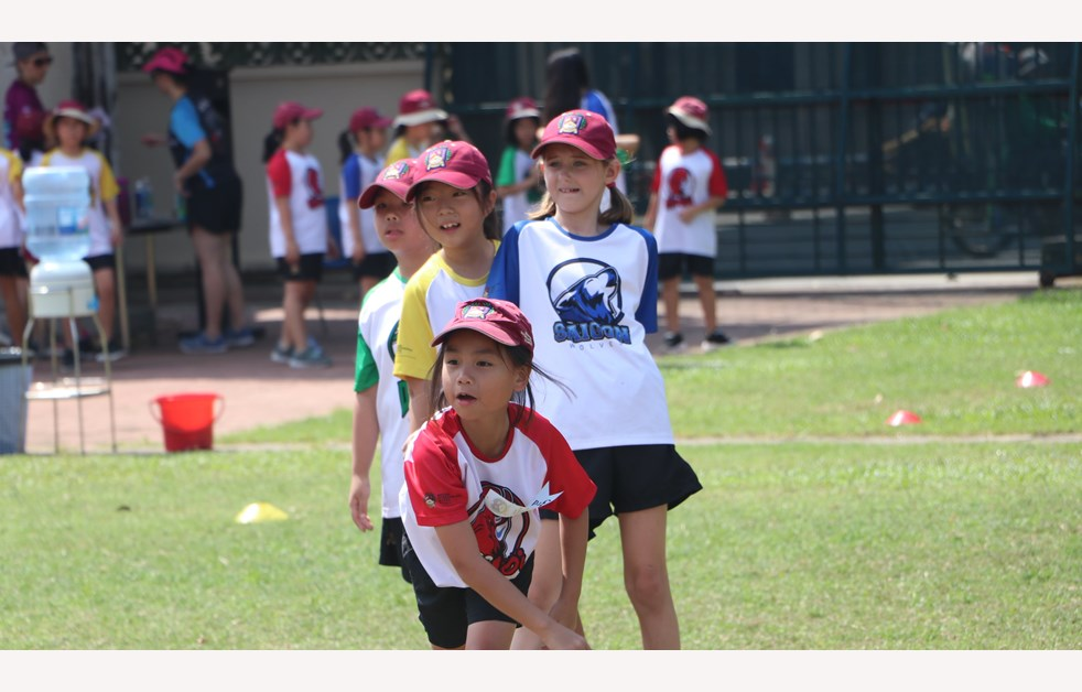 British International School, HCMC, Year 4 Sports Day PE