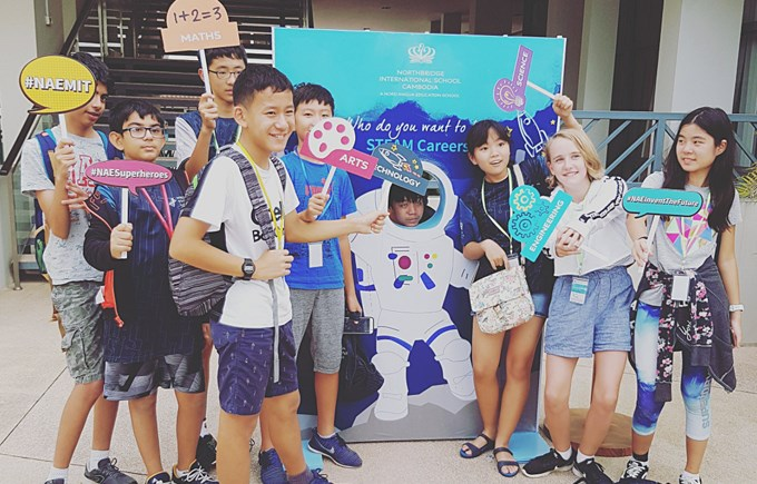 DCIS Students Participated in the Inaugural NAE STEAM Festival in Cambodia