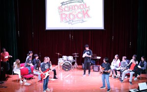 School of Rock Rehearsal (1)