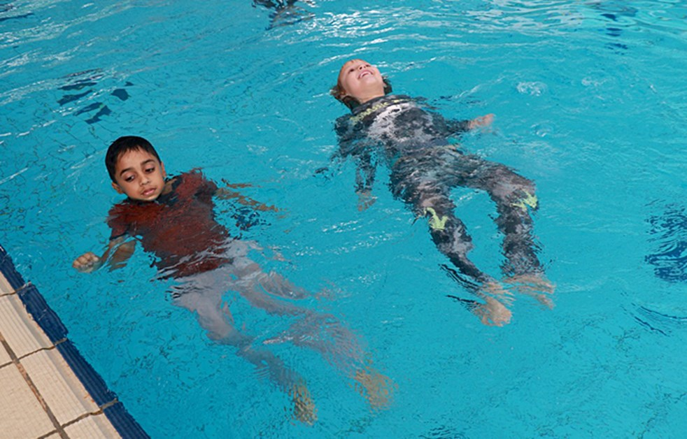 Swim Safety Lessons at Dover Court