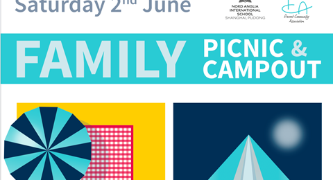 family picnic and campout