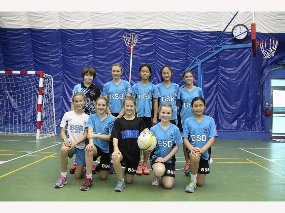 U13 Girls Netball Team 1