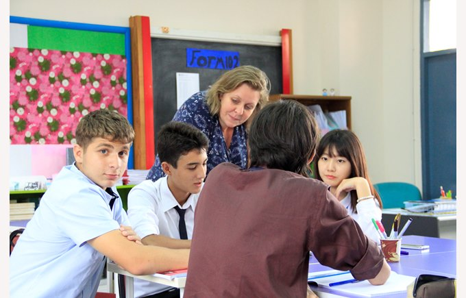 RISE students at Regents International School Pattaya