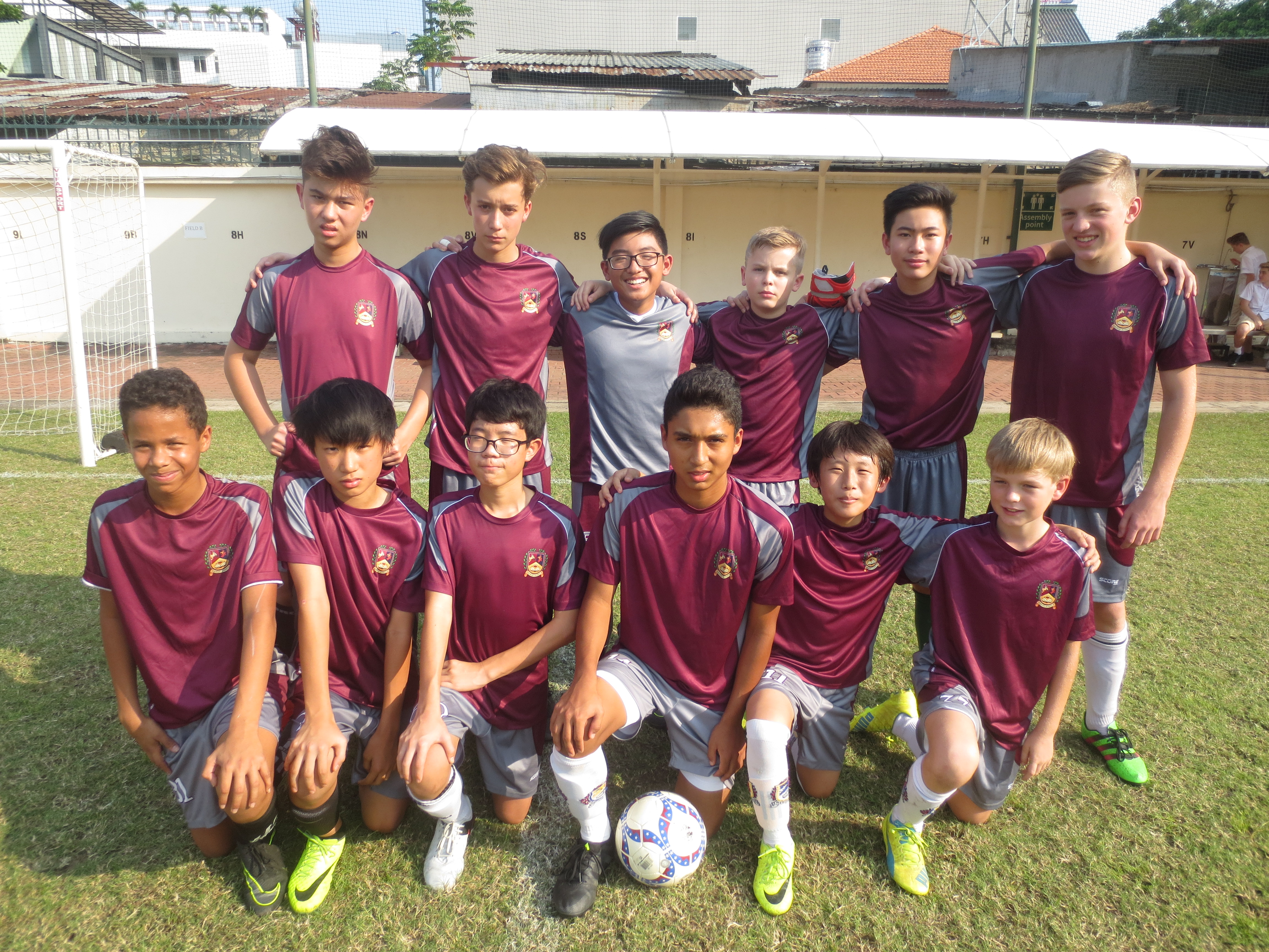 Boys Football at British International School HCMC - Match Reports 13/02/17