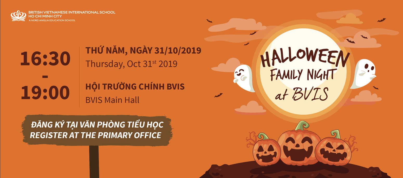 Halloween Family Night BVIS HCMC