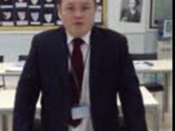 Mr. Cairns, Head of English EAL video