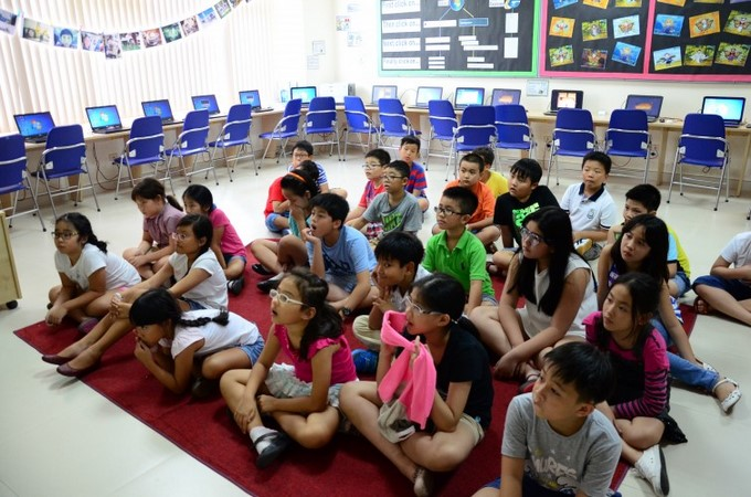 BVIS Summer School 2015 Daily update – KS2