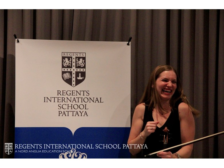 Music Curriculum Evening Juilliard, with Kathryn Andersen - Regents International School Pattaya