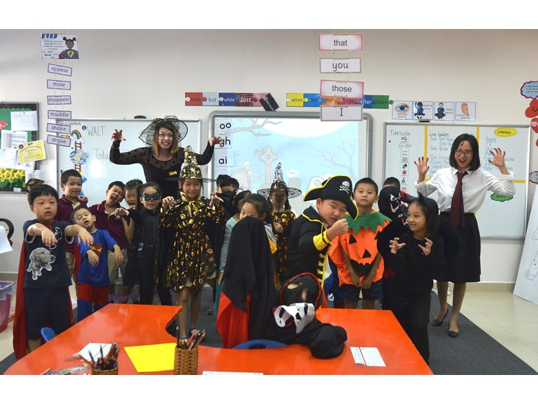 British International School Hanoi halloween