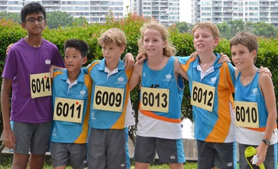 DCIS Under 12 Boys ACSIS Cross Country Team