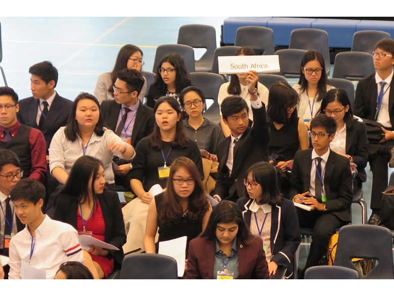 UNISMUN conference 2017 BIS HCMC 4
