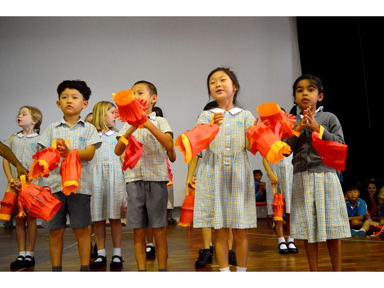 Chinese New Year Assembly Rehearsal 2017