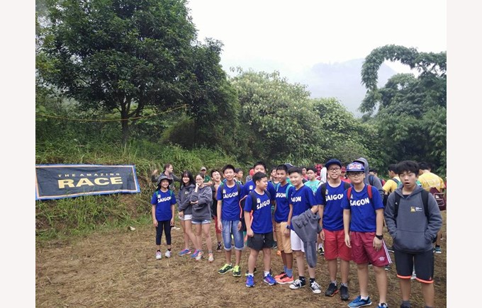 British International School Year 9 Sapa