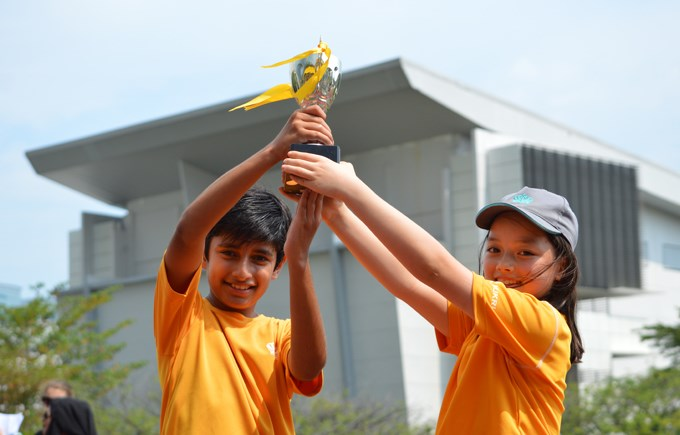 Dover Court International School Singapore, Year 5 Sports Day Winners Newton
