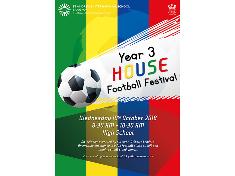 year 3 house football