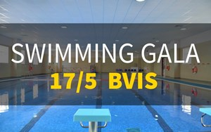 BVIS Swimming gala 17/5 introduce