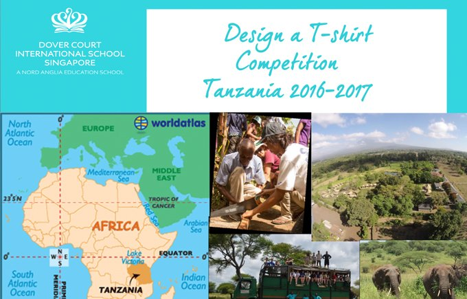 Global Campus Design A Tshirt Tanzania