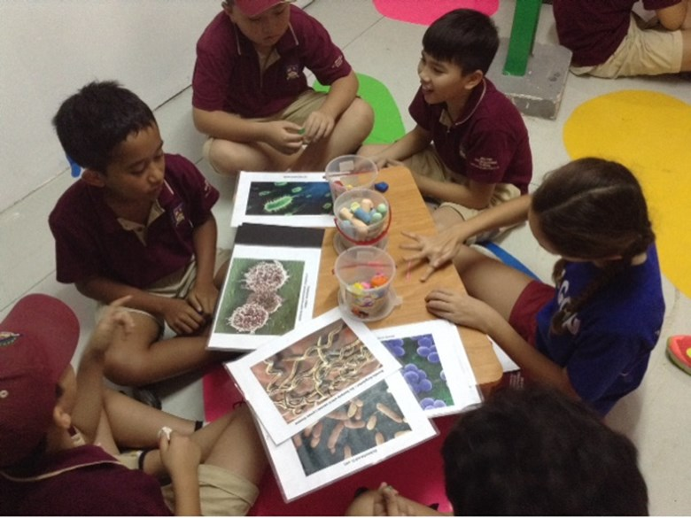BIS Ho Chi Minh Year 5 and 6 visit a Art anf Science exhibit - 1