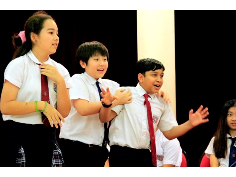 Theatre Sports at Regents international School Pattaya