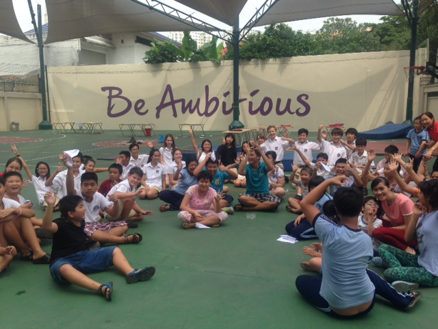 BISHCMC Year 8 Community Project with Thao Dien Disabled School