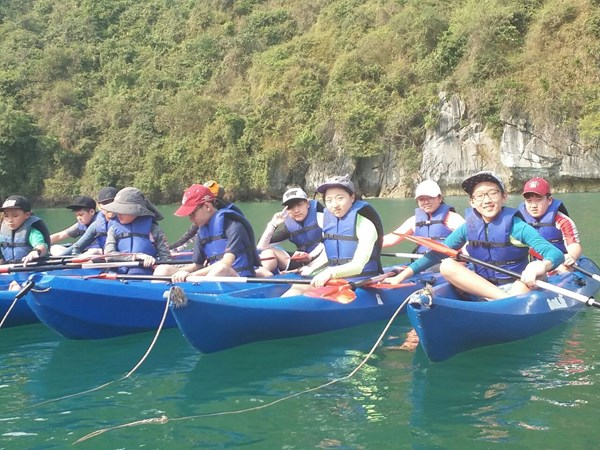 British International School Hanoi Y8 Cat Ba Trip 2018 (25)