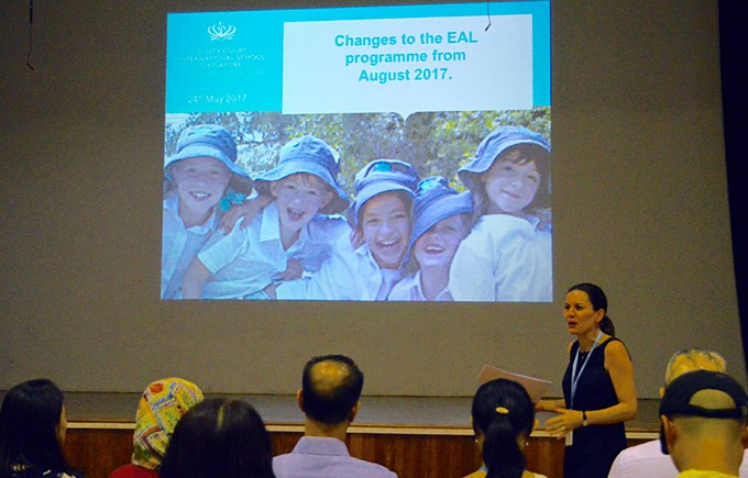Parent Workshop: Changes to the EAL Programme