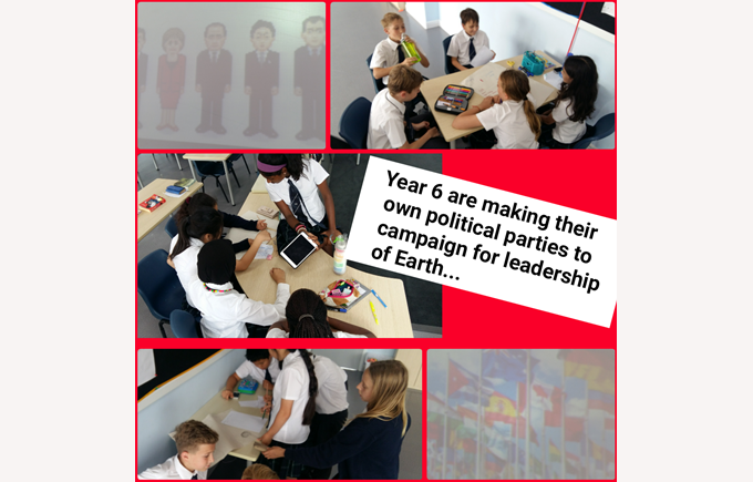 Year 6 on the campaign trail